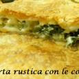 Questa torta rustica l&#8217;ho mangiata a casa di una mia amica, e devo dire che era buonissima, quindi ho provato a rifarla ed  piaciuta tantissimo anche ai miei, molto...